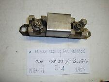 Mercedes-Benz W124 300E W126 300SD engine cooling fan resistor 000 158 32 45