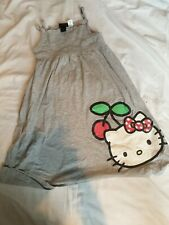 H And M Childrens Hello Kitty Dress In Grey UK Size 6to 8 Years old Girls...