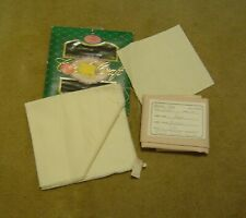 Lot #1089 Misc. Pieces of Cross Stitch Fabric & Waste Canvas - Charles Craft