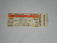 Cheap Trick Concert Ticket Stub-2003-Arena District Plaza Party-Columbus,Oh