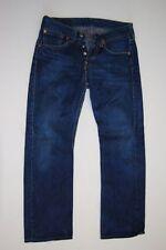 Levis 901 Jeans Hose Dunkelblau Stonewashed  W30 L34