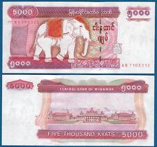 MYANMAR ( BIRMA / BURMA ) 5000 Kyats (2009)  UNC  P.81