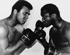 Boxing MUHAMMAD ALI vs JOE FRAZIER Glossy 8x10 Photo Title Fight II