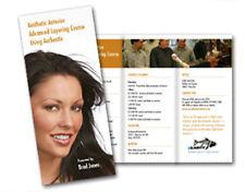 1000 Tri-Fold Brochures REAL PRINTING not copies FULL COLOR 70# matte paper