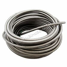AN 10 Braided Stainless Steel Fuel Line Hose 1500 PSI CPE Synthetic Rubber Core