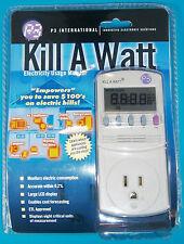 Kill-A-Watt Electricity Usage Monitor, 115VAC