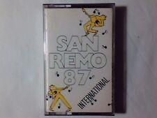 MC Sanremo 87 international PET SHOP BOYS LEVEL 42 WHITNEY HOUSTON STYLE COUNCIL