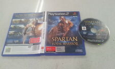 Spartan Total Warrior Sony PlayStation 2 PS2 PAL Version