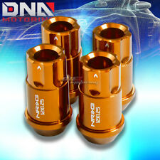 4 X NRG M12 X1.25 ALUMINUM RACING 12PT LUGNUT/RIM LOCK FOR MIT CHRYSLER GOLD
