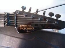 CASIO PG-380 BLACK ELECTRIC GUITAR & SYNTHESIZER MIDI IBANEZ JAPAN PG380