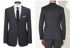Kin by John Lewis Como Milled Saxony Suit Jacket, Navy - UK Size 40S £109 BNWT