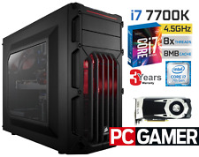 ULTRA Gamer PC i7-7700K 4x4.50Ghz-16GB-6GB GTX1060 - M.2 Gaming Computer