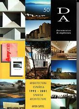 Documentos de Arquitectura #50 Spanish Architecture 1992-2001 June 2002