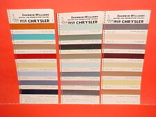 1959 CHRYSLER IMPERIAL 300E N YORKER WINDSOR CONVERTIBLE SARATOGA PAINT CHIPS SW