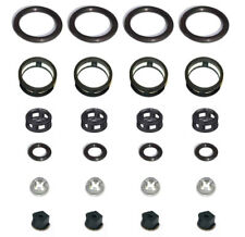Side Feed Fuel Injector Repair Kit Filters Seals O-Rings Pintle Caps JECS (4)