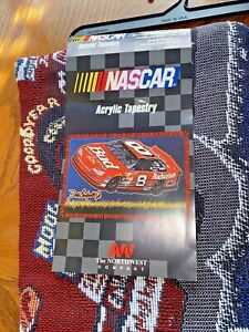 2 Dale Earnhardt Jr Chevy #8 NASCAR Northwest Co.Throw Blanket Tapestry NEW RDL