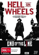 Hell On Wheels : SEASON 5 Part 2 : NEW DVD