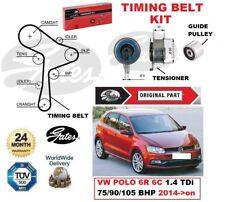 GATES CAMSHAFT TIMING BELT KIT for VW POLO 6R 6C 1.4 TDi 75/90/105 BHP 2014->on