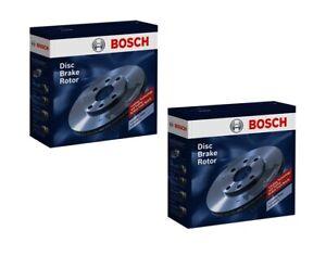Bosch Brake Rotor Pair Rear BD282 fits Fiat 500 1.4
