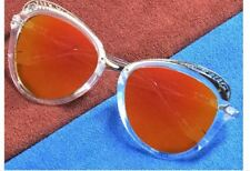 Vula Summer Butterfly Womens Sunglasses Shades Eyeglasses 8685 (Transparent)