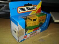 Matchbox - Ford Model A  MB 38  Made 1981 TOY COLLECTORS LOGO's YELLOW & GREEN.
