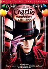Charlie and the Chocolate Factory (Dvd, Two-Disc Deluxe Edition) New
