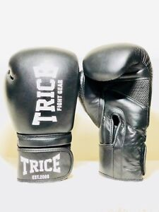 New! Thai Boxing MMA Kickboxing Gloves 100% Real Leather Training & Competition