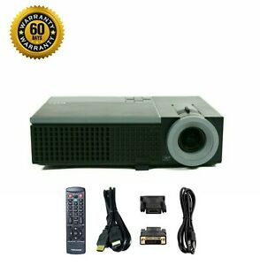 Refurbished Dell 1409X DLP Portable Projector 2500 Lumens HD 1080i HDMI w/Remote