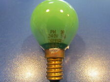 PHILIPS LAMPADINA e14 15w 240v Lampada Goccia Verde pH 3a