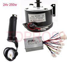 24V 250W Motor Speed Controller Throttle Grip for Electric ATV Bike E-Bike Razor