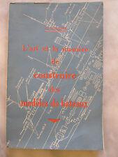 L'Art et la Manière de construire des modeles de bateaux G Lequesne 1941