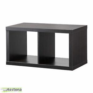 IKEA KALLAX Regal 77x42cm Wandregal Raumteiler Bücherregal schwarzbraun
