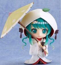 """Nendoroid 303 Snow HATSUNE MIKU Strawberry White Kimono Ver 4"""" Anime Figure Toy"""