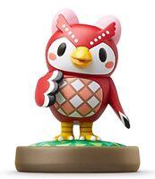 Nintendo amiibo CELESTE (FUKO) Animal Crossing 3DS Wii U Accessories NEW Japan
