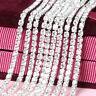 New Crystal Rhinestone Close Chain Trim Sewing Craft DIY Crystal Chain 2/2.5/3mm