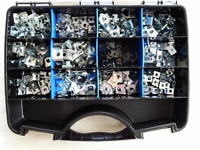 Sortiment Blechmuttern verzinkt im Kasten 300 tlg Blechmutter für KFZ LKW Moto