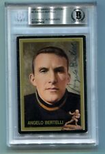 Angelo Bertelli Signed Auto 1991 Heisman Collection I Beckett/BAS Notre Dame