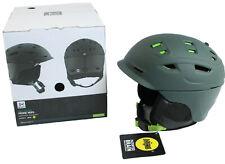 Anon Men's Size M Prime MIPS Helmet Dark Green W20 Snowboard Ski Fidlock BOA