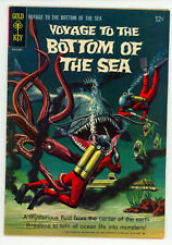 JERRY WEIST ESTATE: VOYAGE TO THE BOTTOM OF THE SEA #2 (Gold Key 1965) FN NO RES