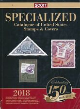 2018 US Scott Specialized Catalogue: Catalog of United States Stamps & Covers
