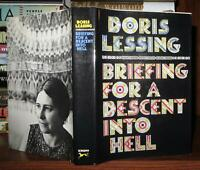 Lessing, Doris BRIEFING FOR A DESCENT INTO HELL  1st Edition 1st Printing