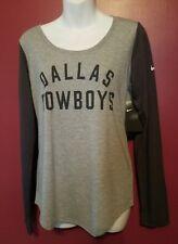 Dallas Cowboys Womens size Small Long Sleeve T-shirt NWT By Nike