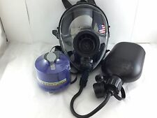 Mestel Safety SGE400 Gas Mask 40mm NATO w/DrinkingSystem & NBC Filter Exp 9/2022