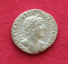 Ancient Roman Traian Silver Denarius