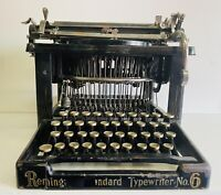 ANTIQUE REMINGTON STANDARD NO. 6 TYPEWRITER RARE