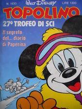 Topolino n°1630 [G.273] - BUONO –