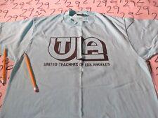XL- Vintage Screen Stars United Teachers Of Los Angeles Rare / Damaged T- Shirt