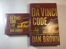 The Da Vinci Code By Dan Brown And Colin Stinton Reader On Audiobook Cd And Book