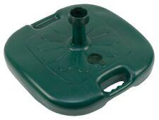 base per ombrellone in pvc cm 45x45 per pali fino a Ø 35 mm riempimento acqua ve