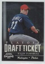 2011 Playoff Contenders Draft Tickets /99 Kylin Turnbull #DT28
